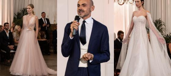 Eleganza, eccellenza e artigianalità: anche Enzo Miccio celebra la sposa 2020 di Atelier 14