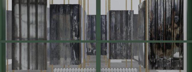 """Travi, lamiere e pannelli: gli """"scarti urbani"""" di Roma in mostra a Vienna"""