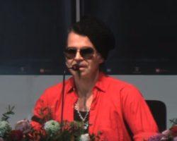 Piero Pelù e l'appello contro la violenza sulle donne – Festival di Sanremo 2020